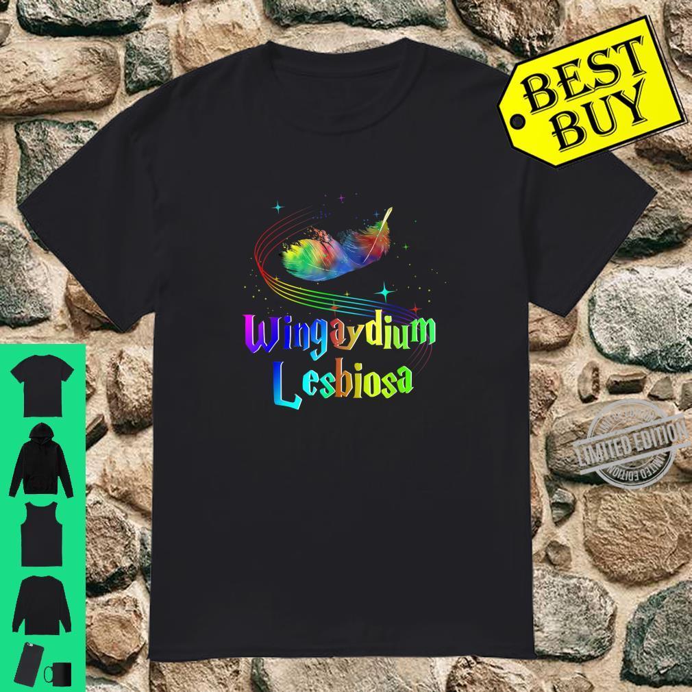 LGBT Pride 2020 Gay Lesbian Wingaydium Lesbiosa Shirt