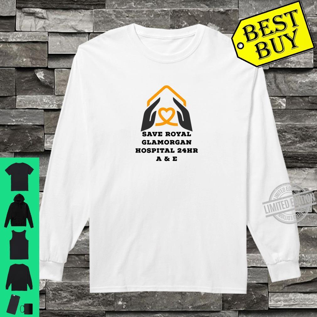 Save Royal Glamorgan Hospital A & E Shirt long sleeved
