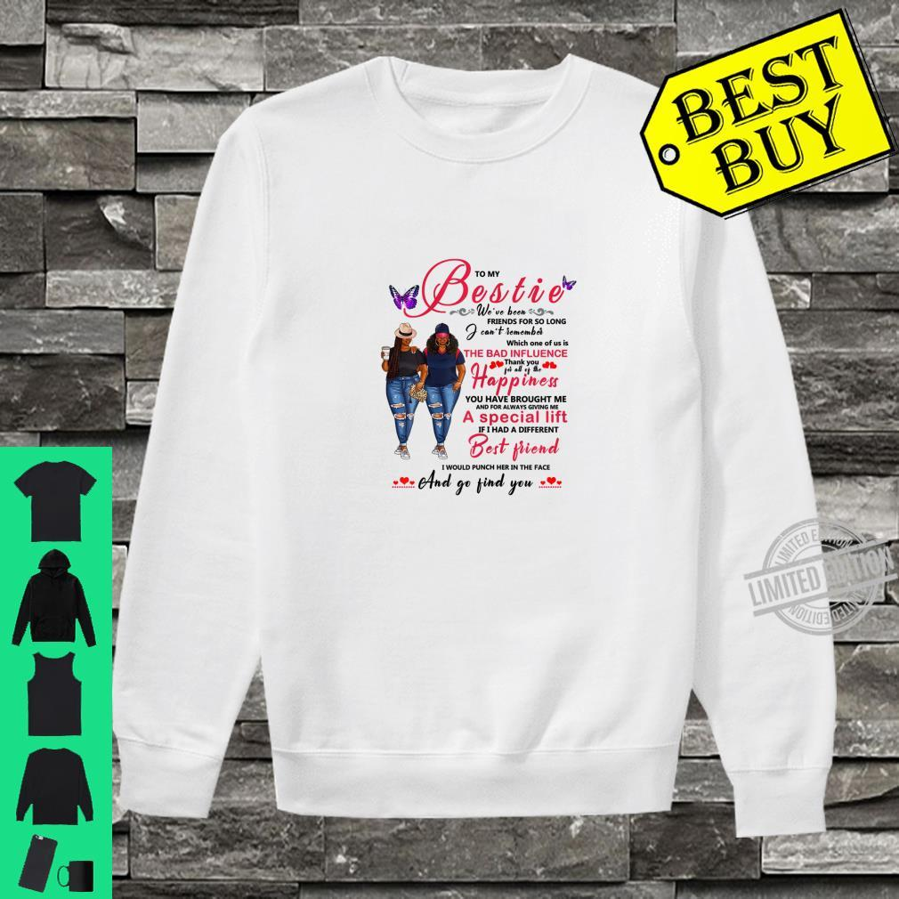 To My Bestie Afro Black With Natural Hair Shirt sweater