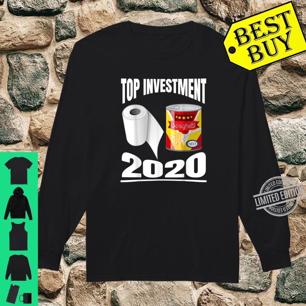 Toilettenpapier Dosen Essen Top Investments 2020 Shirt long sleeved