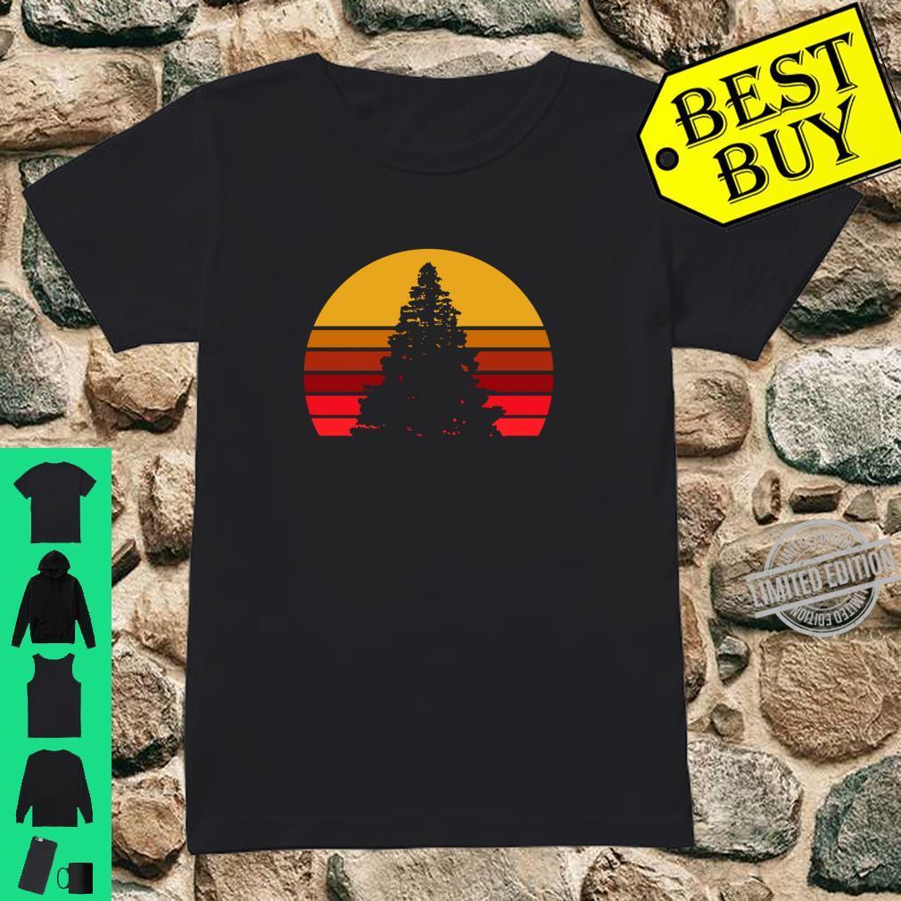 Vintage Sunset Rock,, Shirt ladies tee