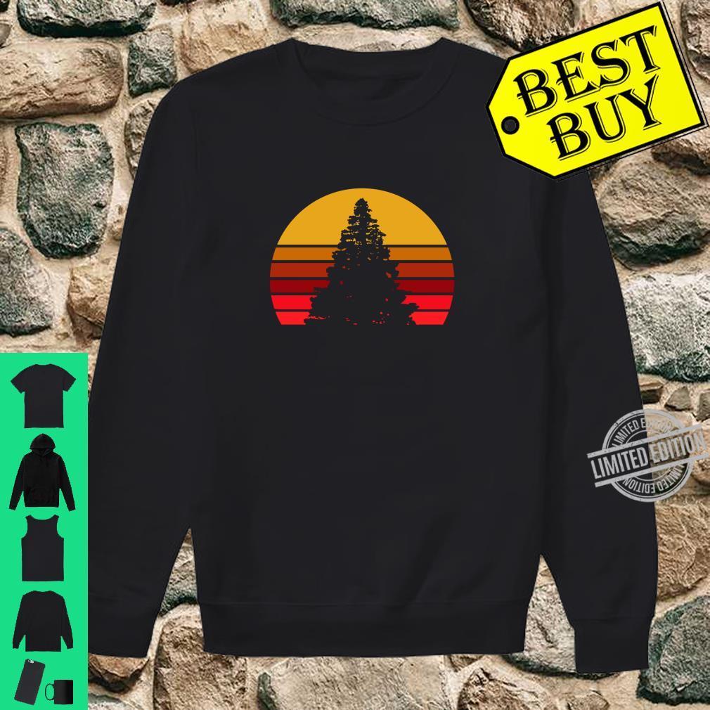 Vintage Sunset Rock,, Shirt sweater