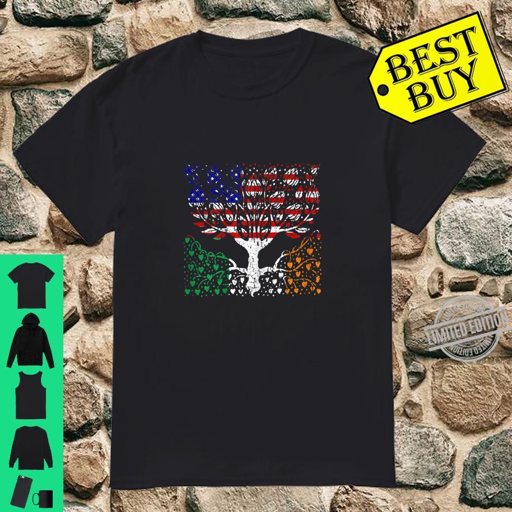 Womens Irish Proud, Made in Ireland, Irish American Shirt