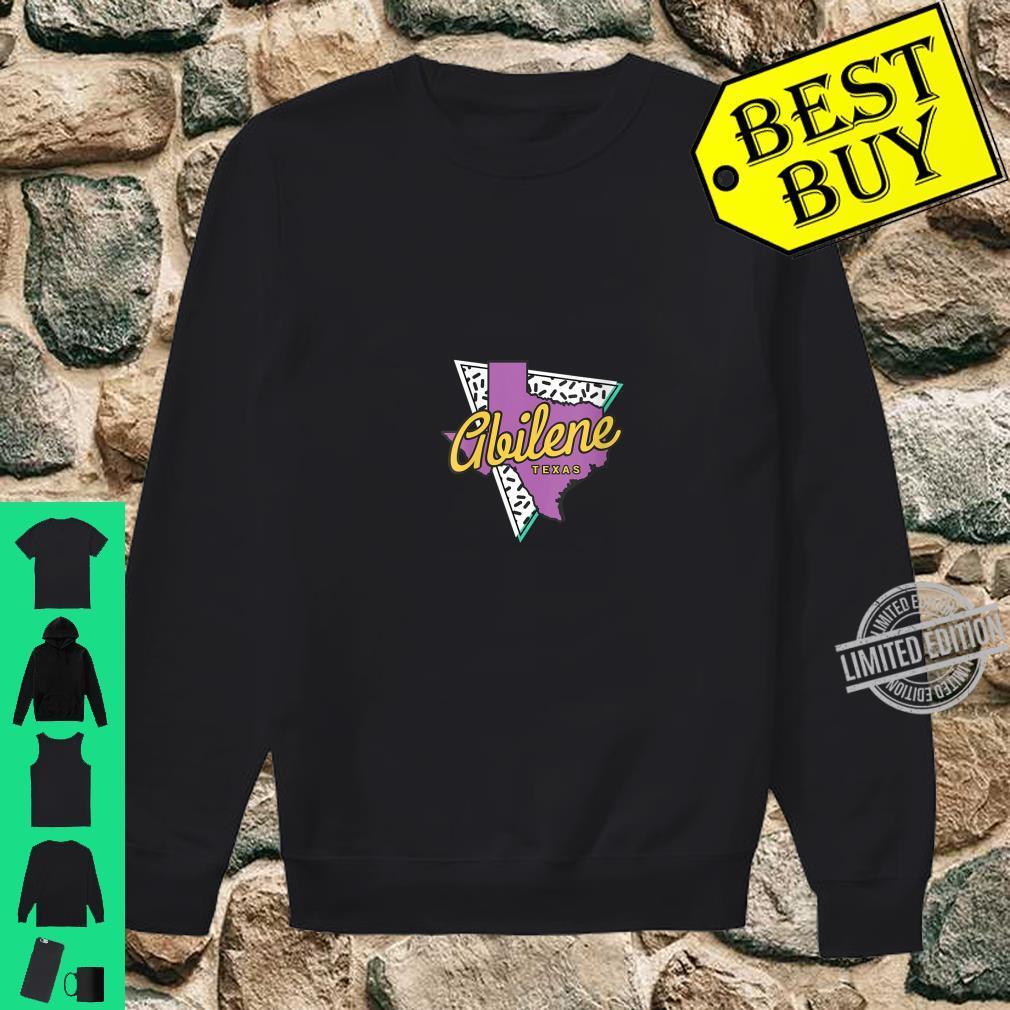Womens Retro Abilene Texas Map Abilene Shirt sweater